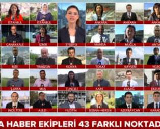 Türkiyenin 15 yıl içinde yaşadığı büyük değişim A haber ekranlarında!