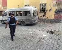 Kilise roketli saldırı: 3 yaralı