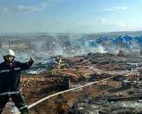 Katil Esed mülteci kampını bombaladı