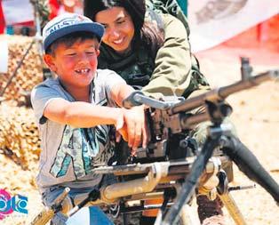 İsrail küçüldü