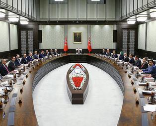 Erdoğan başkanlığında ilk toplantı