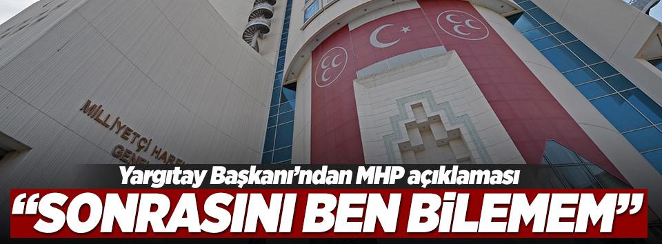 Yargıtaydan MHP açıklaması