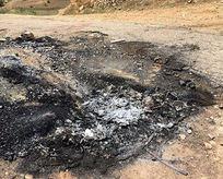 PKK vurduğu muhtarı aracında yaktı