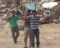 Nusaybinde PKKlı bir grup hain daha teslim oldu