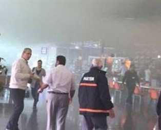 Bursa Otobüs Terminalinde yangın paniği
