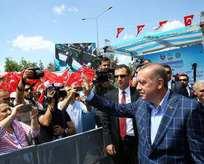 Diyarbakırda Cumhurbaşkanı Erdoğan coşkusu