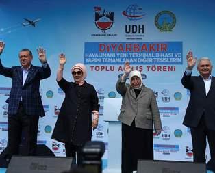 Devletin zirvesi Diyarbakırda