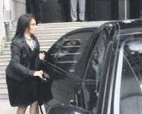 Aysel Tuğluk Meclisin aracıyla terörist taşıdı!