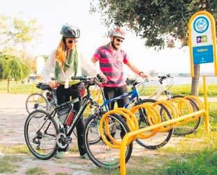 Ücretsiz bisiklet parkları çoğalıyor