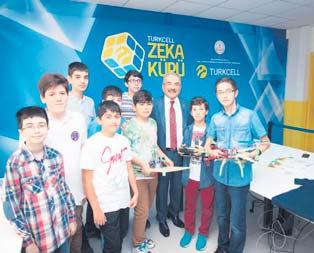 Zeka küplerine Turkcell'den destek
