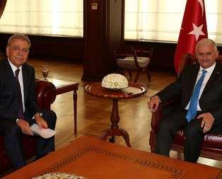 Başbakan Yıldırım, Toprak ve Kocaoğlu'nu kabul etti