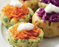 Patates Çanağında Salata Tarifi