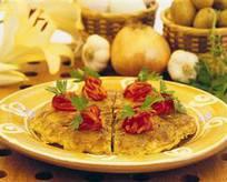 İspanyol Usulü Patatesli Omlet