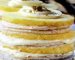 Ananaslı Milföy Pasta Tarifi