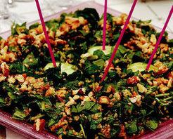 Bulgurlu Roka Salatası Tarifi