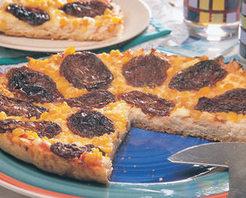 Kuru Domatesli Pizza Tarifi