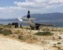 Ispartadan kalkan uçak zorunlu iniş yaptı