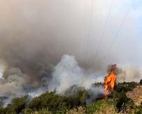 Kumlucadaki yangın büyüyor