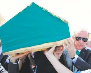 Karaalioğlu'nun babasına son görev