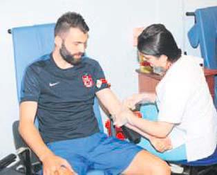 Trabzonspor'da sağlık testi yapıldı