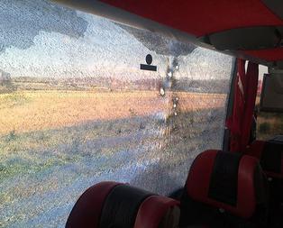 Ankarada yolcu otobüsüne silahlı saldırı