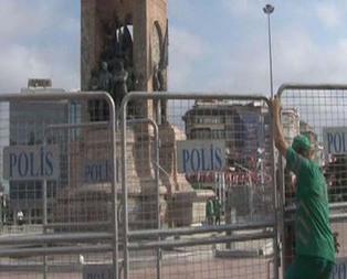 Taksim Meydanında LGBT provokasyonu!