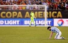 Şili Arjantine diz çöktürdü! Messi buna dayanamadı ve...
