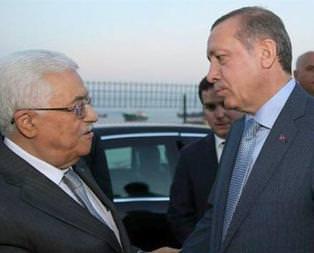 Anlaşmanın ardından Erdoğan Abbasla görüştü