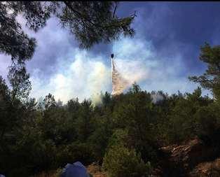Yangın oraya sıçradı! Bölgedekiler tahliye ediliyor