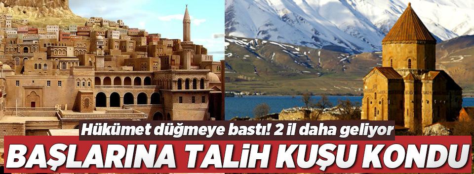 Türkiyeye 2 il daha geliyor