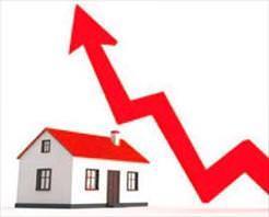 Konut fiyatları % 18 arttı