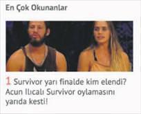 Derdimiz Survivor!