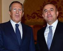 Çavuşoğlu mevkidaşı Lavrov ile görüştü