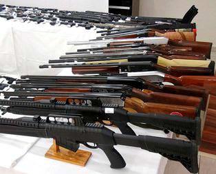 Silah kaçakçılarına ağır darbe!