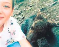 Ruslar ayılarla aynı karede