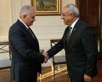Başbakan, DSP Genel Başkanını kabul etti