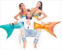 Deniz kızları Kilyos'ta