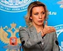 Zaharova'dan NATO'ya tepki