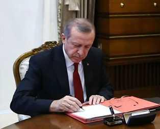 Cumhurbaşkanı Erdoğandan o kanuna onay