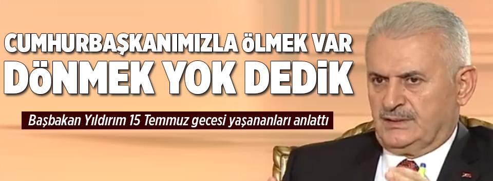 Başbakan Yıldırım: Duyunca sigortalarım attı