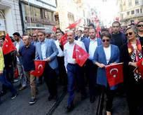 AK Partililer CHPnin mitinginde