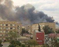 Azerbaycanda silah fabrikasındaki patlama