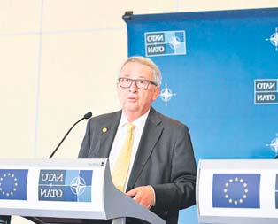 İşine bak Juncker