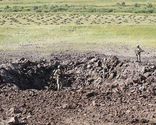 PKKlıların tuzakladıkları bomba ellerinde patladı!