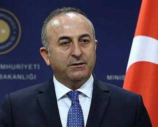 Bakan Çavuşoğlu, Ban Ki Moon ile görüştü