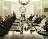 YAŞ Başbakan Yıldırım başkanlığında toplandı