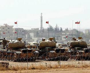Zırhlı birlikler sınıra!