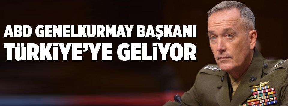 ABD Genelkurmay Başkanı Türkiyeye geliyor