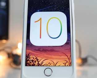 iOS 10 yeniliklerle geliyor!