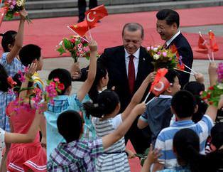 Cumhurba�kan� Erdo�an �in'de